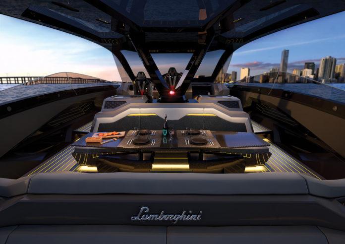 italian lamborghini yachts