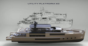40-metre steel platform for yacht