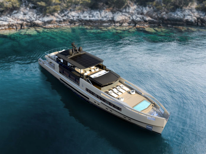 hull adaptable displacement yacht