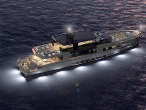 cusrtomised yacht antonini navi