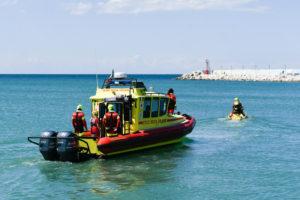 hydro ambulance red cross boat