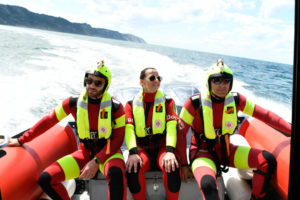 rescue boat yamaha motors