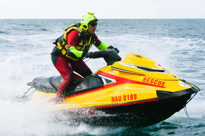 rescue on sea yamaha