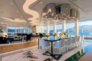 design interiors yachts