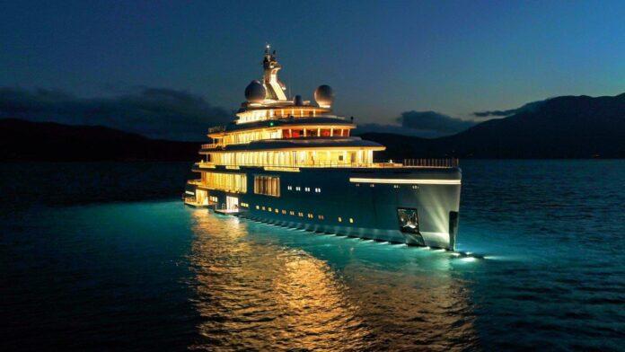 benetti mega italian yachts