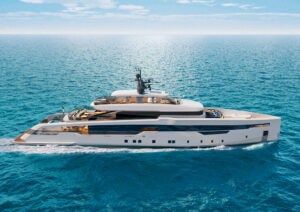 ferretti brand mega yacht