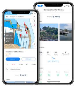 app for navigation on sea