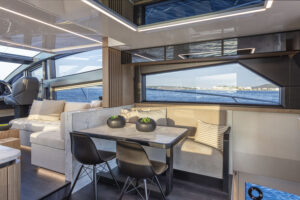 interior design pearl yacht