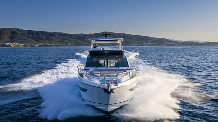 pearl 62 yacht on sea