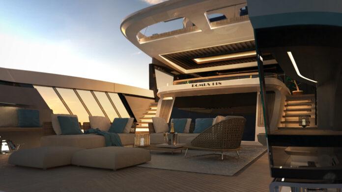 new mega yacht italian project