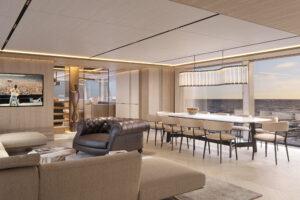 interior yacht design tecnormar