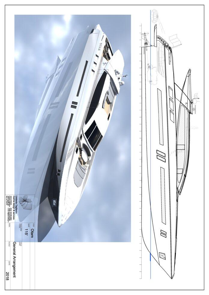 italian megayacht project