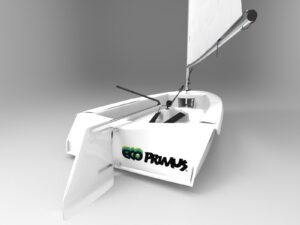 recycled materials boat made in italy