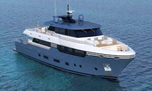 megayacht Italian design