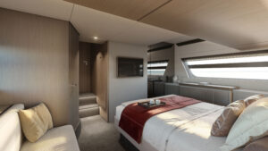luxury and comfort italian yacht