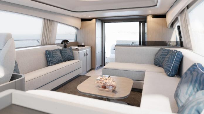 azimut yacht interiors