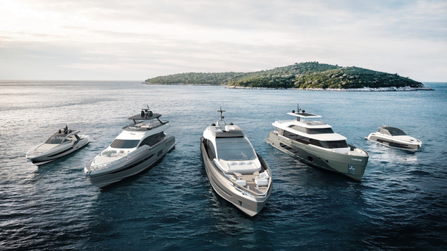 azimut yacht fleet