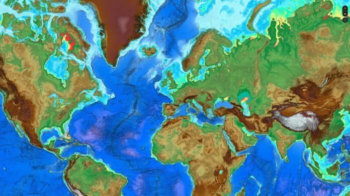 navigation digital map
