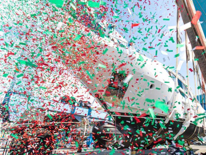 Delfino 95 mega yacht