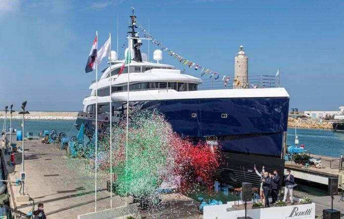 65-meter full custom yacht