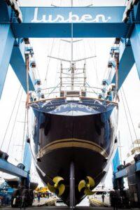 perini navi megayacht restyle