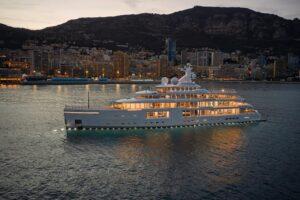 italian mega yacht