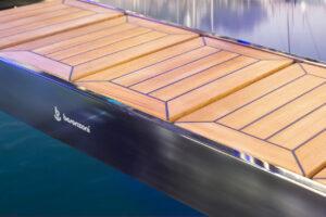 electric system besenzoni yacht