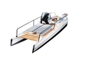 Frauscher TimeSquare electric boat