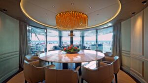 mega yacht made in italy design