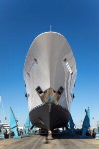 lusben yacht refit