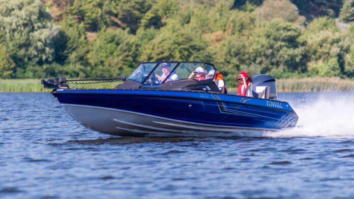 fishing boat yamaha motor
