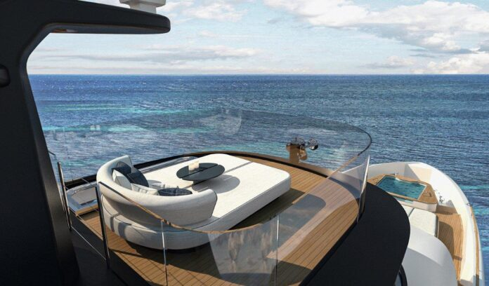 benetti glamorous yacht