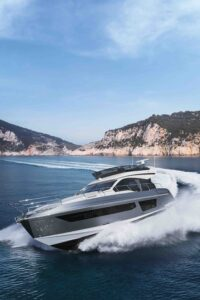 azimut 53 running yacht