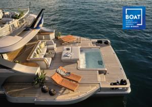 benetti yacht awarded design