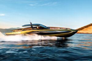 italian design yacht