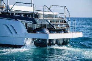 yacht outboard motor yamaha